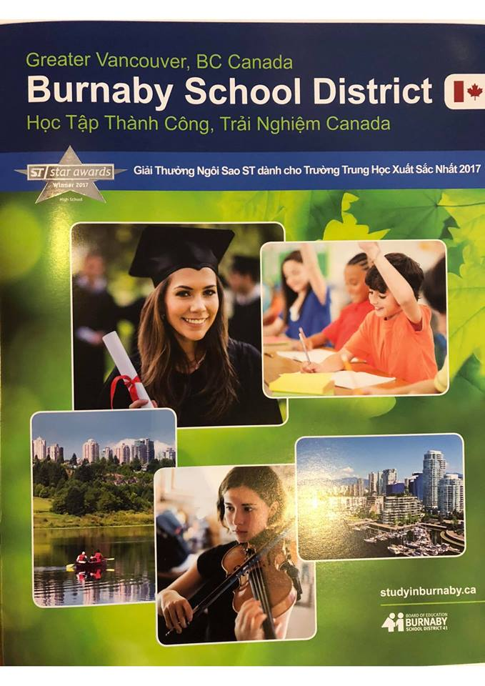 BURNABY SCHOOL DISTRICT – BRITISH COLUMBIA
